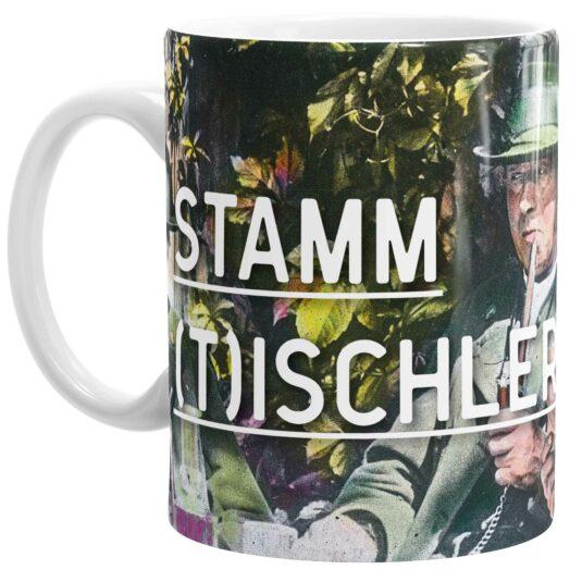 SISSIKUSS Keramik-Tasse Stammtischler