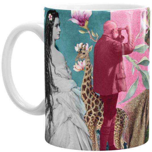 SISSIKUSS Keramik-Tasse Kaiserpaar