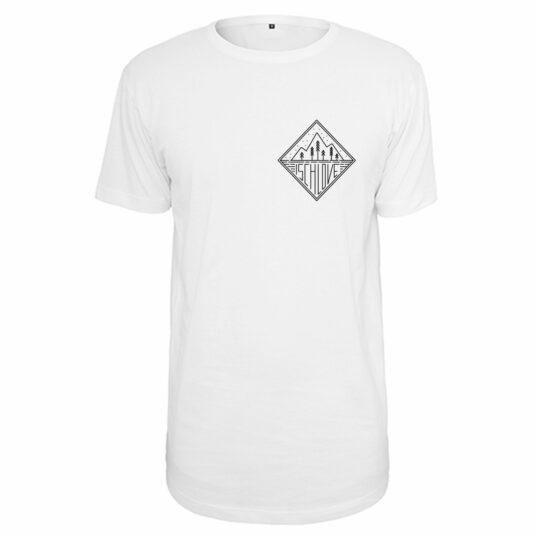"""Herren-T-Shirt """"Ischlove"""" weiß, Single-Jersey"""