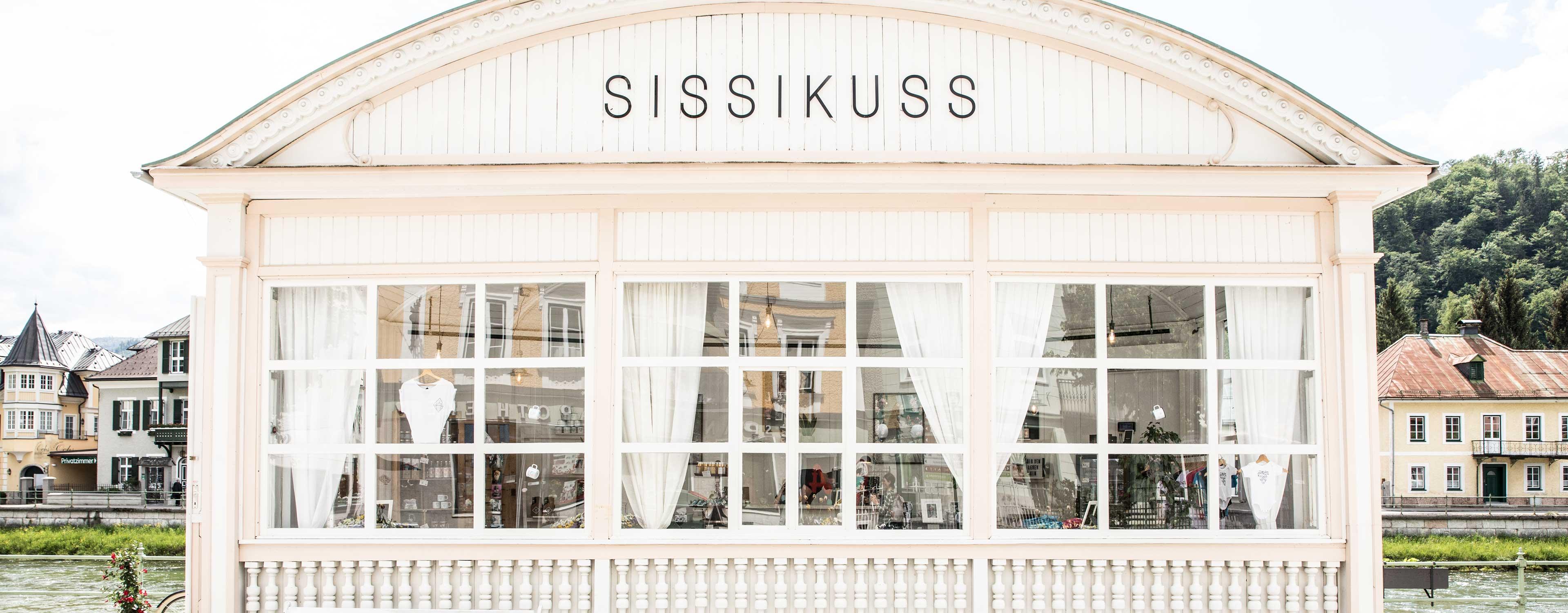 SISSIKUSS Shop Bad Ischl Außenansicht